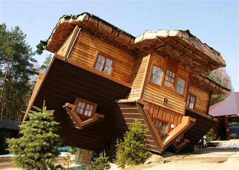 upside down house poland weird houses archives gps escrow