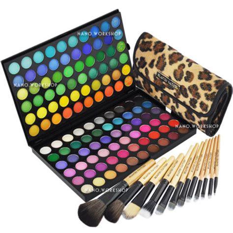 Tz Leopard Make Up Palette 120 makeup cosmetic shimmer matte eyeshadow palette w 12 makeup brush 89a 177l ebay