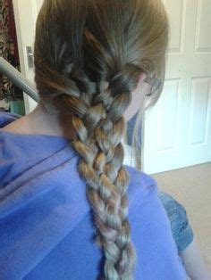 Hairstyles For School In Two Plates by Wemans Hairstyle On Braids Buns And Teased Bun