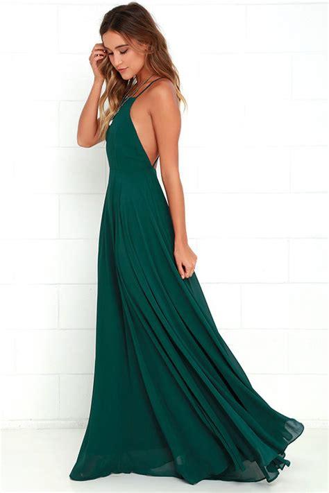 Greeny Maxi Dress beautiful green dress maxi dress backless maxi