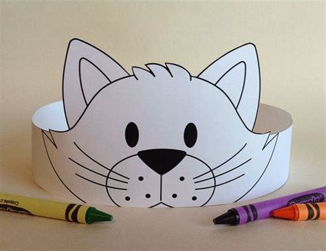 printable animal crowns 78 best ideas about stirnb 228 nder on pinterest groundhog