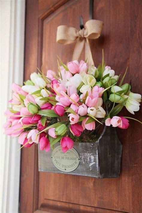 spring decor 35 simple spring flower arrangements table centerpieces