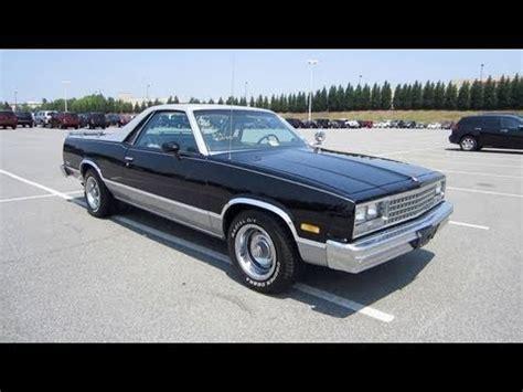 84 Monte Carlo Ss Interior 1984 Chevrolet El Camino Conquista Start Up Exhaust And