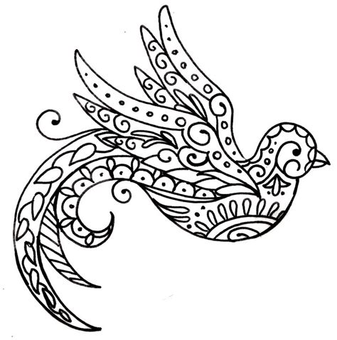 bird design coloring page day of the dead bird tattoos google search new tattoo