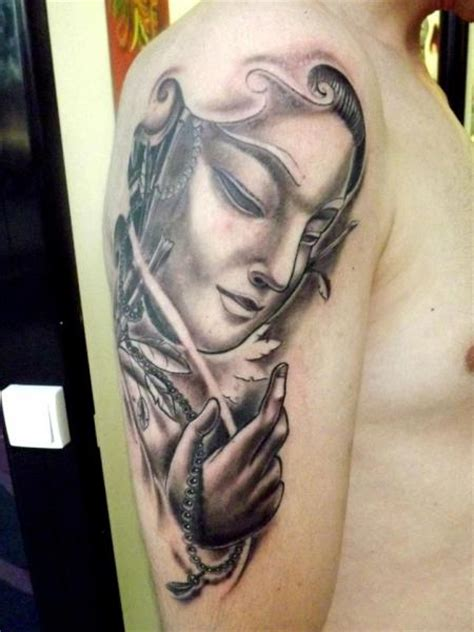 next level tattoo shoulder religious by next level