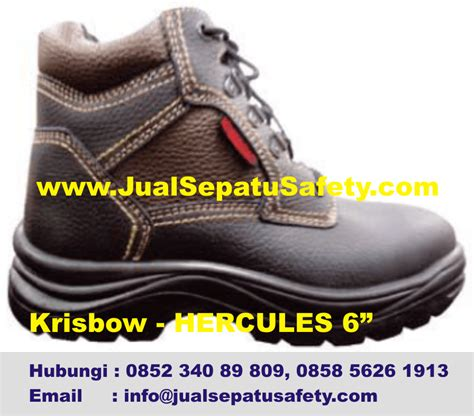 Sepatu Murah sepatu safety krisbow caterpillar cheetah jogger