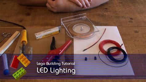 tutorial lego friends lego tutorial led lighting youtube