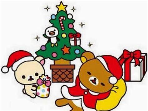 imagenes de navidad kawai pc kawaii navidad iconos fondos papercraft rilakkuma