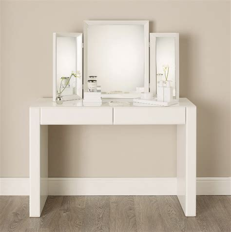 White Modern Bedroom Vanity by White Dressing Tables Our Of The Best Ideal Home