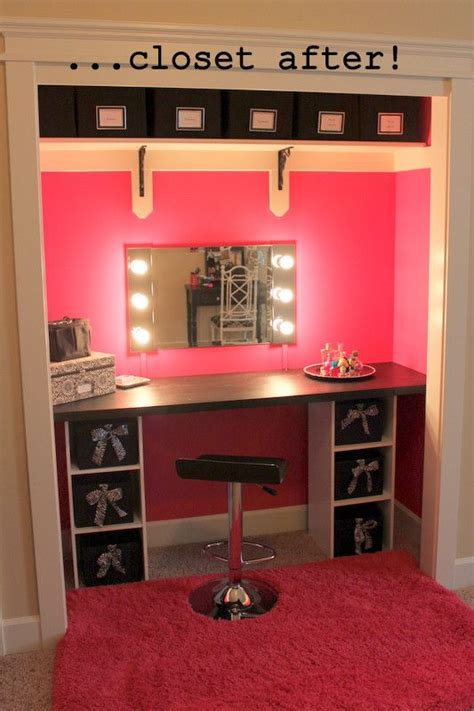 makeup room furniture best 25 closet turned office ideas on closet desk closet office and closet