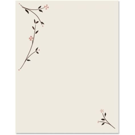 Simple Paper - simple blossoms border papers paperdirect