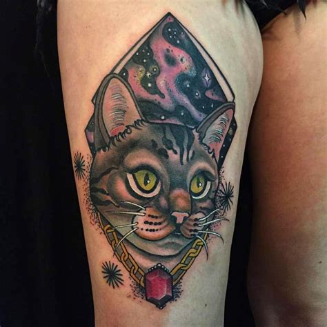 tattoo meaning cat 80 best cat tattoo designs meanings spiritual luck 2018