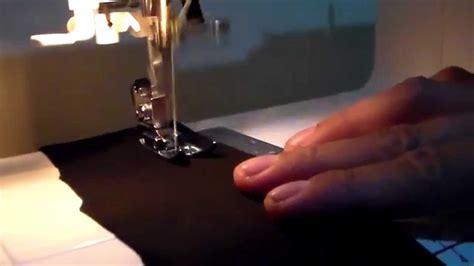 Cara Menggunakan Mesin Jahit Janome mesin jahit janome mystyle 500 part 2 jahit bahan kaos
