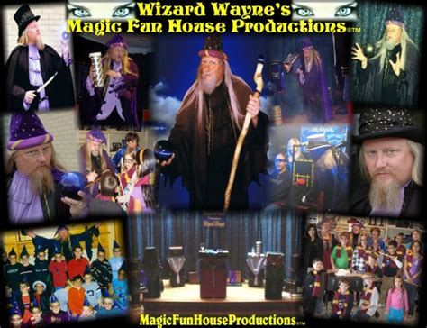magic fun house hire magic fun house productions wizard wayne magician in garland texas