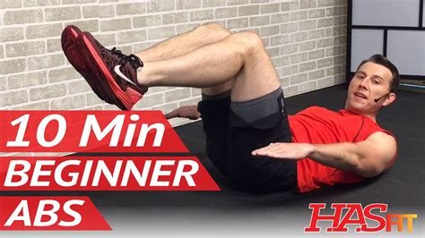 minute abs workout  beginners  min easy beginner
