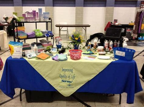 trade table display ideas 17 best images about norwex display booth ideas on