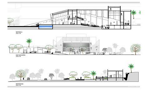 Nassau Community Center Detox by Ground Floor Elevation Studio Design Gallery Best