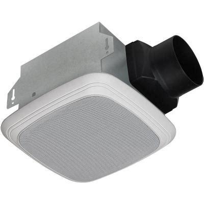 Wireless Bathroom Exhaust Fan by Homewerks Worldwide Decorative White 70 Cfm Bluetooth