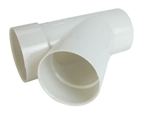 bow plastics ltd pvc 4 inch wye spigot the home depot canada