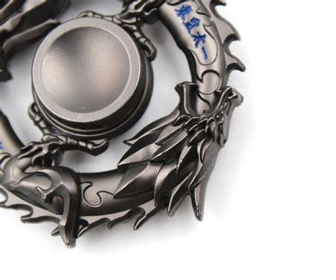 Fitged Spinner Dragons Metal Steel Fidget Spinners Kreative