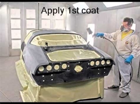 how to body work and paint a car part 1 basic steps in painting a car youtube