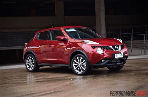 red nissan 2015 nissan juke ti s awd review video performancedrive