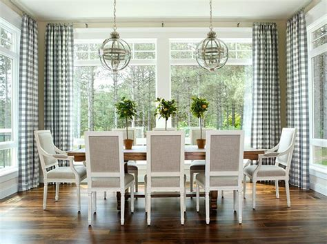 Dining Room Blue Curtains Dining Room Design Decor Photos Pictures Ideas