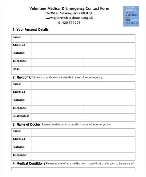 next of kin form template uk next of kin form template uk image collections template