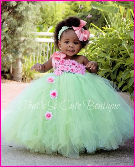 Dress Tutu Flower Green Pink pink and mint green flower tutu dress mint and pink
