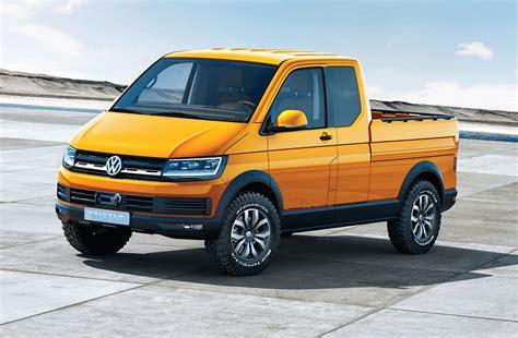 vw truck volkswagen tristar tdi concept pickup