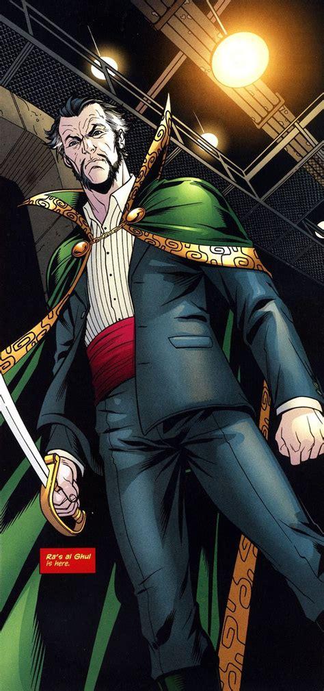 räs ra s al ghul comic book villains