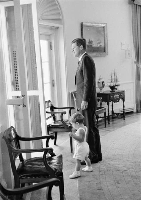 President Kennedy with John F. Kennedy, Jr. (JFK, Jr
