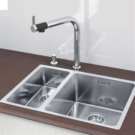 blanco andano 340 180 u bowls undermount kitchen sink and blanco andano 340 180 if sink w 58 5 d 44 cm can be flush mounted 518320 reuter shop com
