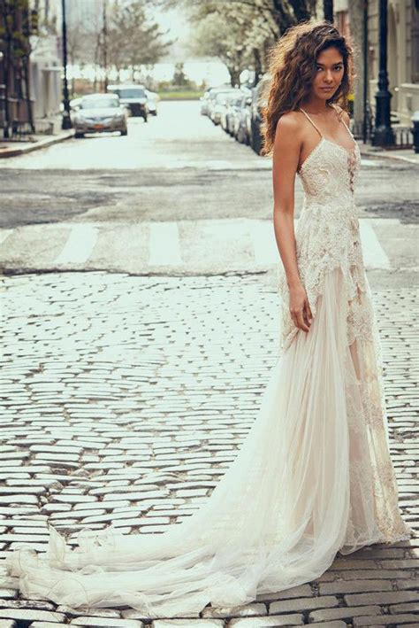 Brautkleider Bohemian by These Pretty Wedding Dresses Are A Bohemian