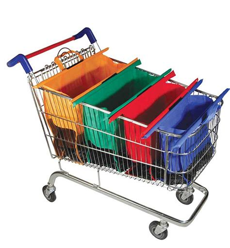 Supermarket Trolley Organizer Bag trolley bags