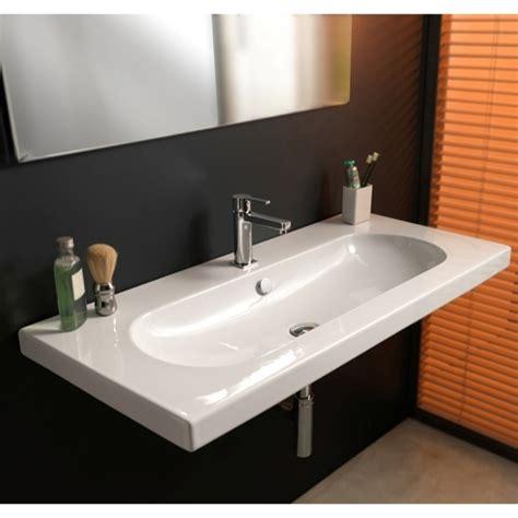 wide bathroom sink two faucets wide bathroom sink bathroom design ideas