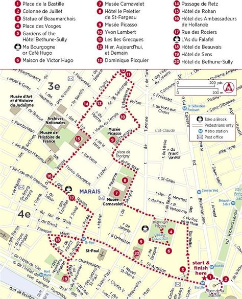 marais map marais neighborhood map walks neighborhoods