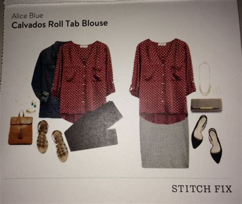 lack of color tab stitch fix 1 blue calvados roll tab blouse kept