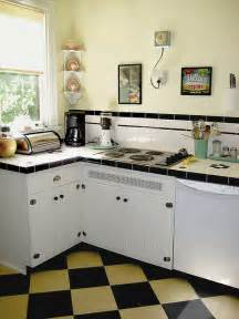vintage kitchen backsplash 50 s kitchen get s a 30 s facelift i like the
