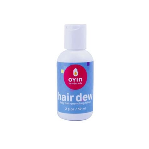 Handmade Hair Products - 2oz mini hair dew oyin handmade