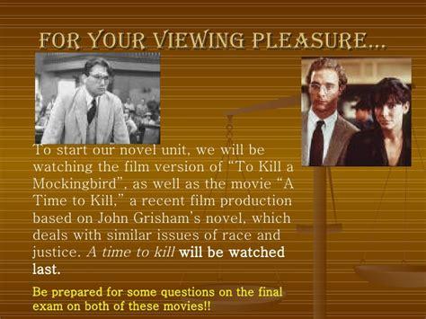 themes in to kill a mockingbird movie intro to mockingbird slideshow