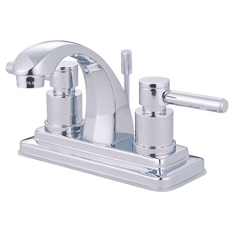 Center Set Faucet by Kingston Brass Centerset Bathroom Faucet Chrome
