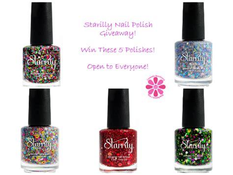 Nail Polish Giveaway - starrily nail polish giveaway cosmetic sanctuary