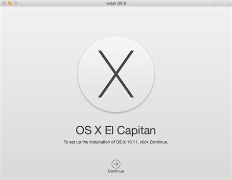 el capitan install how to install os x 10 11 el capitan public beta today