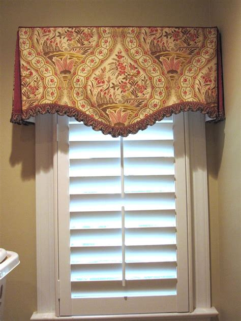 valance ideas cheeky cognoscenti laundry room window treatment sewn