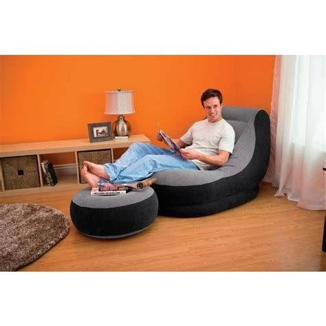 Buy Ultra Lounge Chair With Oatman Online Shopclues Com Intex Lounge Chair With Ottoman