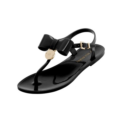 Sandal Jelly 2 black sandals black jelly sandals with bow