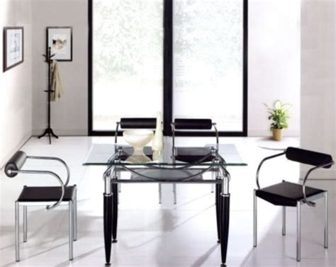 Metal Dining Table W Glass Top Ol Dt17 Metal Dining Set W Glass Top Ol Dt17s