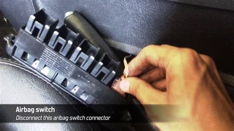 how to fix airbag warning light how to fix airbag fault warning light blinking