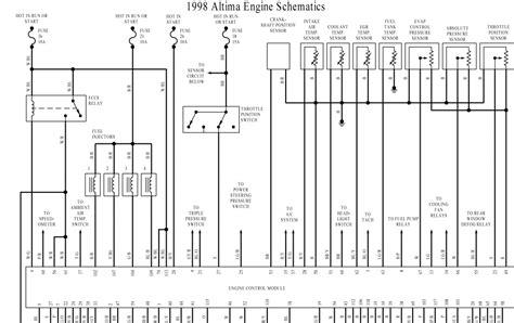 nissan altima engine wiring diagram wiring diagram